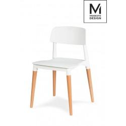 MODESTO krzesło ECCO białe...
