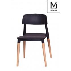 MODESTO krzesło ECCO czarne...