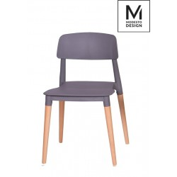 MODESTO krzesło ECCO szare...