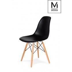 MODESTO krzesło DSW czarne...
