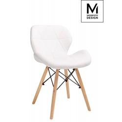 MODESTO krzesło KLIPP białe...
