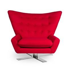 Fotel VINGS czerwony -...