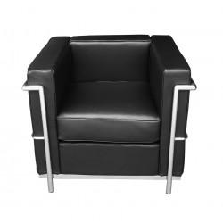 Fotel SOFT LC2 czarny -...