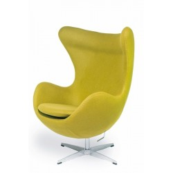 Fotel EGG CLASSIC zielona...