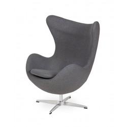 Fotel EGG CLASSIC grafitowy...