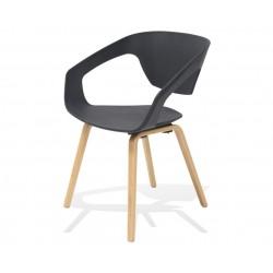 Fotel SORISSO czarny -...