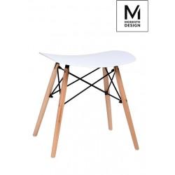 MODESTO stołek BORD biały -...