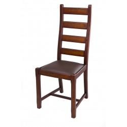 Krzesło LUIS dębowe postarzane