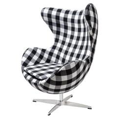 Fotel EGG CLASSIC kratka  -...