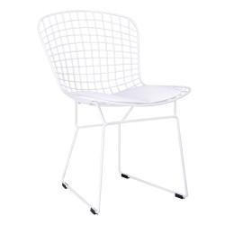 Krzesło NET SOFT białe -...