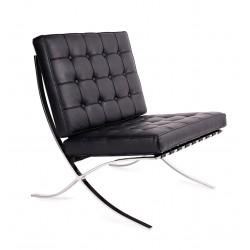Fotel BARCELON czarny -...