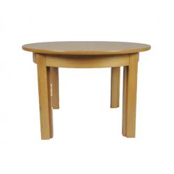 Stół Borys -dębowy okrągły...