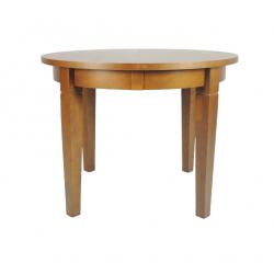 """Stół okrągły """"E"""" bukowy"""