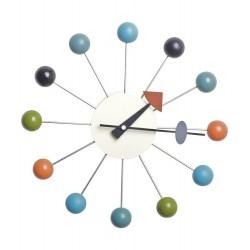 Zegar ścienny TIK - metal, drewno