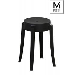 MODESTO stołek CALMAR 46 czarny - polipropylen