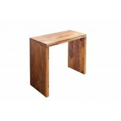 INVICTA biurko MAKASSAR 100 cm Sheesham - lite drewno palisander