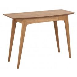 ACTONA biurko WOODSTOCK dąb - MDF, drewno naturalne