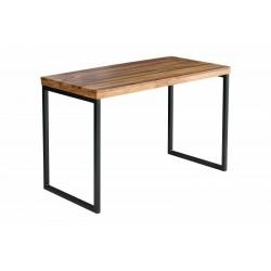 INVICTA biurko ELEMENTS Sheesham - lite drewno palisander, metal