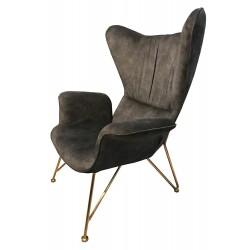 Fotel SHRIMP ALCANTARA...