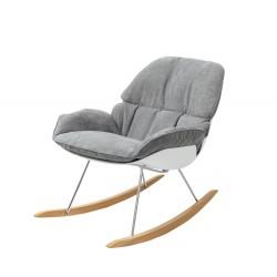 Fotel bujany NINO jasny...