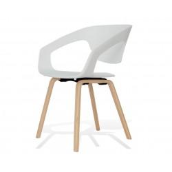 Fotel SORISSO biały -...