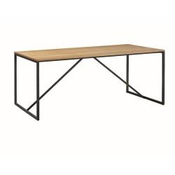 Stół LOFT - blat dąb, nogi...