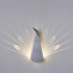 Kinkiet PAW szary - LED,...