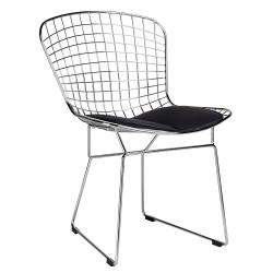 Krzesło NET SOFT chrom -...